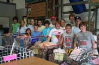 Youth Group Food Drive
