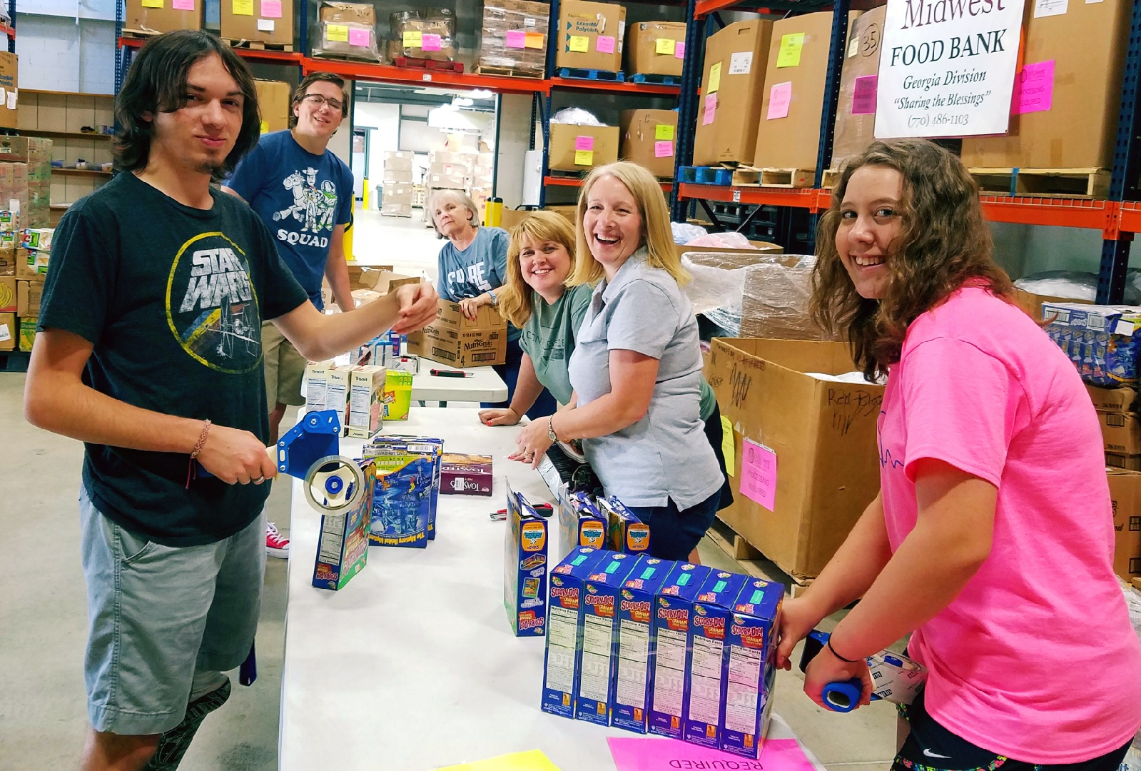 Monday Mission - Midwest Food Bank